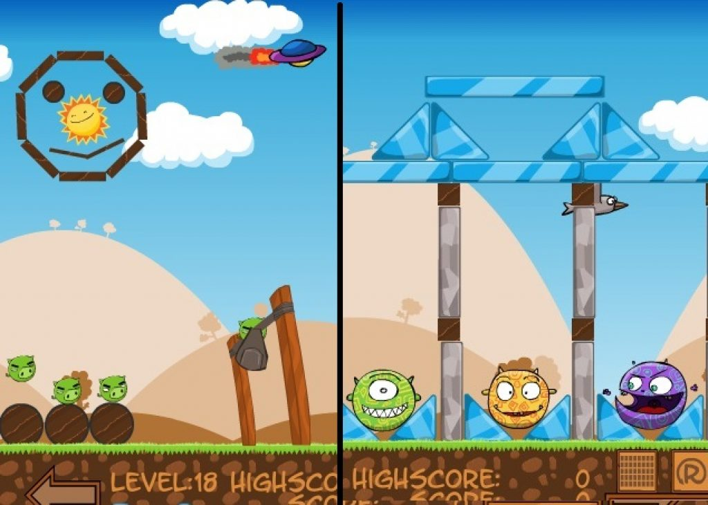 10 best games like angry birds catapult games kaidus games like the game as a whole feels somewhat glitchy and slow but is a fun new take on angry birds voltagebd Gallery