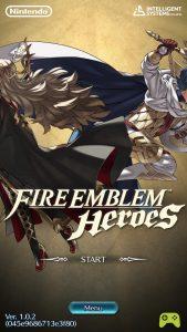 Fire emblem title screen