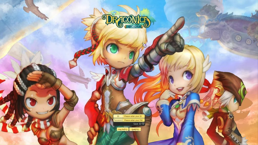 Dragonica/Dragon Saga : My journey MMORPG continues