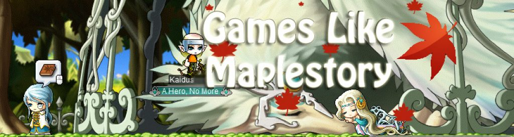 games like maple story 2