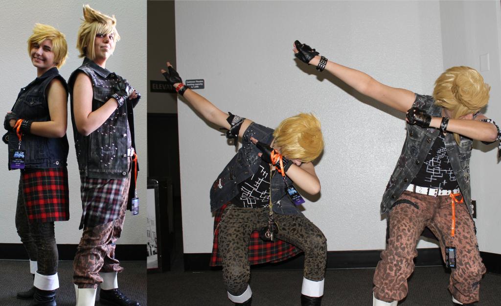 Final Fantasy Prompto Cosplay Lvl Up